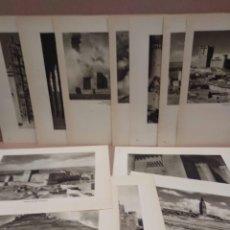 Arte: LOTE 12 FOTOGRAFIAS HUECOGRABADO DE VALLADOLID DE JOSE ORTIZ ECHAGUE. Lote 199302533