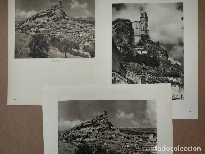 LOTE 3 FOTOGRAFIAS HUECOGRABADO DE MONTEFRIO DE JOSE ORTIZ ECHAGUE (Arte - Huecograbado)