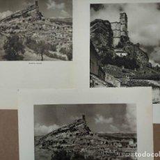 Arte: LOTE 3 FOTOGRAFIAS HUECOGRABADO DE MONTEFRIO DE JOSE ORTIZ ECHAGUE. Lote 199312282