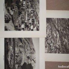 Arte: LOTE 3 FOTOGRAFIAS HUECOGRABADO DE LA ALPUJARRA DE GRANADA DE JOSE ORTIZ ECHAGUE. Lote 199312446