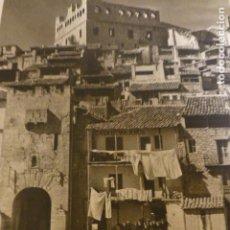 Arte: VALDERROBRES TERUEL VISTA HUECOGRABADO AÑOS 50 25,5 X 30 CMTS. Lote 199945078