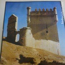 Art: BELMONTE DE CAMPOS PALENCIA CASTILLO HUECOGRABADO AÑOS 50 25,5 X 30 CMTS. Lote 199959078