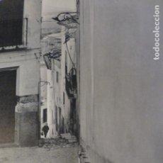Art: MORATALLA MURCIA CALLE LAMINA HUECOGRABADO ANTIGUA. Lote 200045965
