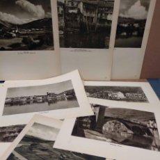 Arte: 13 FOTOGRAFIAS DEL PAIS VASCO Y PROVINCIA, ORTIZ ECHAGUE 1947 . Lote 200203271
