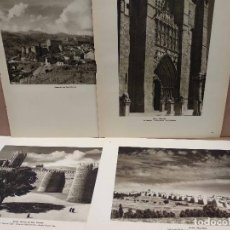 Arte: 4 FOTOGRAFIAS DE AVILA Y PROVINCIA, ORTIZ ECHAGUE 1947 . Lote 200203493
