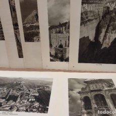 Arte: 7 FOTOGRAFIAS DE MALAGA Y PROVINCIA, ORTIZ ECHAGUE 1947 . Lote 200204007