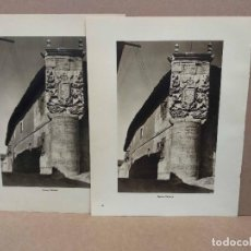 Arte: 2 FOTOGRAFIAS DE PALENCIA, ORTIZ ECHAGUE 1947 . Lote 200224251