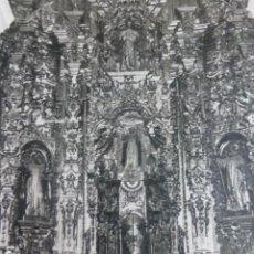 Art: HERVAS CACERES PARROQUIA DE SAN JUAN RETABLO ANTIGUO HUECOGRABADO AÑOS 40. Lote 201210280