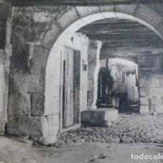 Art: SAN MARTIN DE TREVEJO CACERES TIPICO RINCÓN ANTIGUO HUECOGRABADO AÑOS 40. Lote 201212308