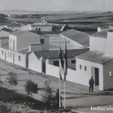 Art: SAN FRANCISCO DE OLIVENZA BADAJOZ VISTA ANTIGUO HUECOGRABADO AÑOS 40. Lote 201268648