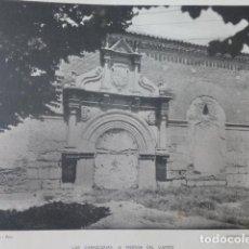 Arte: MEDINA DEL CAMPO VALLADOLID CARNICERIAS HELIOGRABADO 1928 G. BOUAN , VICENT FREAL ET CIE. PARIS. Lote 201303618