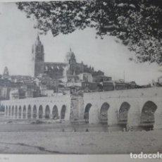 Arte: SALAMANCA VISTA HELIOGRABADO 1928 G. BOUAN , VICENT FREAL ET CIE. PARIS. Lote 201305848