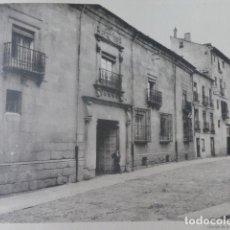 Arte: SEGOVIA PALACIO DEL MARQUES DEL ARCO HELIOGRABADO 1928 G. BOUAN , VICENT FREAL ET CIE. PARIS. Lote 201306532
