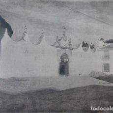 Arte: RONDA MALAGA ENTRADA A LA PLAZA DE TOROS HELIOGRABADO 1928 G. BOUAN , VICENT FREAL ET CIE. PARIS. Lote 201306590