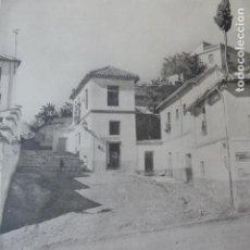 Arte: GRANADA CUESTA DEL CHAPIZ HELIOGRABADO 1928 G. BOUAN , VICENT FREAL ET CIE. PARIS. Lote 201306780