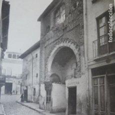 Arte: GRANADA CORRAL DEL CARBON HELIOGRABADO 1928 G. BOUAN , VICENT FREAL ET CIE. PARIS. Lote 201306837