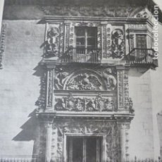 Arte: GRANADA PALACIO DE HERNANDO DE ZAFRA HELIOGRABADO 1928 G. BOUAN , VICENT FREAL ET CIE. PARIS. Lote 201306905