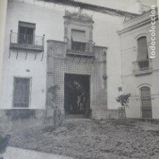 Arte: CORDOBA PALACIO DE FUENSANTA HELIOGRABADO 1928 G. BOUAN , VICENT FREAL ET CIE. PARIS. Lote 201307023