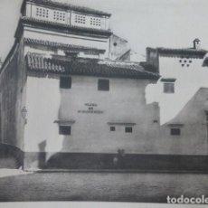 Arte: SEVILLA PLAZA DE SAN ILDEFONSO HELIOGRABADO 1928 G. BOUAN , VICENT FREAL ET CIE. PARIS. Lote 201307070