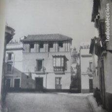Arte: SEVILLA PLAZA DE SAN ILDEFONSO HELIOGRABADO 1928 G. BOUAN , VICENT FREAL ET CIE. PARIS. Lote 201307105