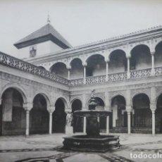 Arte: SEVILLA PALACIO DE LOS DUQUES DE TARIFA HELIOGRABADO 1928 G. BOUAN , VICENT FREAL ET CIE. PARIS. Lote 201307208