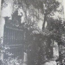 Arte: SEVILLA PALACIO DE LOS DUQUES DE TARIFA HELIOGRABADO 1928 G. BOUAN , VICENT FREAL ET CIE. PARIS. Lote 201307278