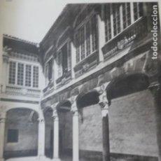 Arte: VALLADOLID PALACIO REAL PATIO HELIOGRABADO 1928 G. BOUAN , VICENT FREAL ET CIE. PARIS. Lote 201307312