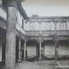 Arte: AVILA PALACIO DE POLENTINOS PATIO HELIOGRABADO 1928 G. BOUAN , VICENT FREAL ET CIE. PARIS. Lote 201307655