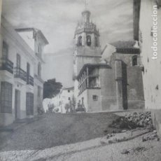 Arte: RONDA MALAGA IGLESIA DE SANTA MARIA LA MAYOR HELIOGRABADO 1928 G. BOUAN , VICENT FREAL ET CIE. PARIS. Lote 201309306