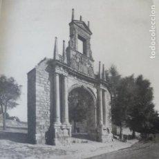 Arte: BURGOS ARCO DE FERNAN GONZALEZ HELIOGRABADO 1928 G. BOUAN , VICENT FREAL ET CIE. PARIS. Lote 201309407