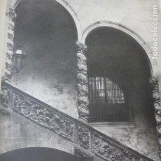 Arte: BARCELONA ESCALERA DE LOS DALMASES HELIOGRABADO 1928 G. BOUAN , VICENT FREAL ET CIE. PARIS. Lote 201309568