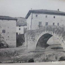 Arte: VERGARA GUIPUZCOA PUENTE HELIOGRABADO 1928 G. BOUAN VICENT FREAL ET CIE. PARIS. Lote 201312862