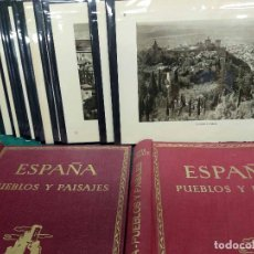 Arte: 16 FOTOGRAFIAS GRANADA ALHAMBRA ORTIZ ECHAGUE 1947. Lote 203439657