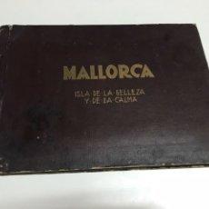Arte: MALLORCA, ISLA DE LA BELLEZA Y DE LA CALMA. LIBRO CON 17 HUECOGRABADOS DE LA ISLA. Lote 208280771