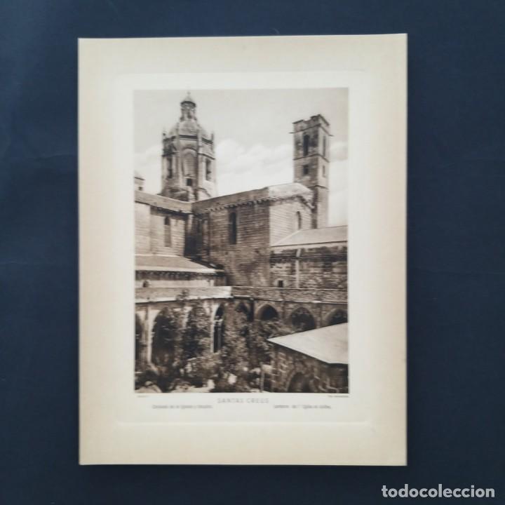 GRAN FOTOTIPIA FOTOGRAFIA IMPRESA SANTA CREUS TARRAGONA FOTO OTTO WUNDERLICH, (Arte - Huecograbado)