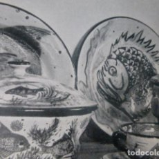 Art: LA BISBAL GERONA CERAMICA ANTIGUO HUECOGRABADO. Lote 212217993