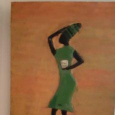 Arte: TABLA DE HAITÍ. Lote 213881355