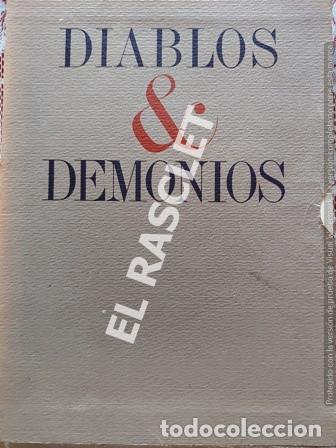 DIABLOS & DEMONIOS - TROQUELADOS Y DIBUJADOS POR PLA - NARBONA (Arte - Huecograbado)