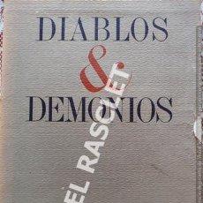 Arte: DIABLOS & DEMONIOS - TROQUELADOS Y DIBUJADOS POR PLA - NARBONA. Lote 221797928