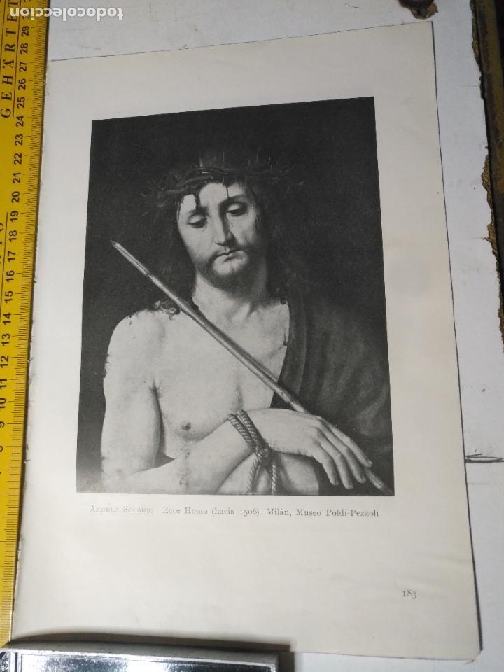 AÑO 1935 - RELIGIOSA - CRISTO ECCE HOMO (Arte - Huecograbado)