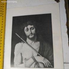Arte: AÑO 1935 - RELIGIOSA - CRISTO ECCE HOMO. Lote 223144068