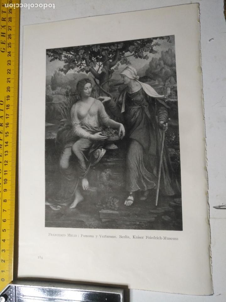 AÑO 1935 - RELIGIOSA - POMONA Y VERTUMMNO (Arte - Huecograbado)