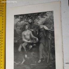 Arte: AÑO 1935 - RELIGIOSA - POMONA Y VERTUMMNO. Lote 223144102