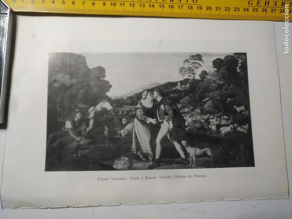 AÑO 1935 - RELIGIOSA - PARIS Y ENONA (Arte - Huecograbado)