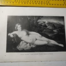 Arte: AÑO 1935 - ARTE , VENUS ACOSTADA. Lote 223144415