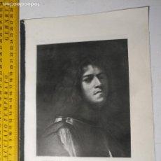 Arte: AÑO 1935 - ARTE , AUTORRETRATO COM DAVID. Lote 223144483