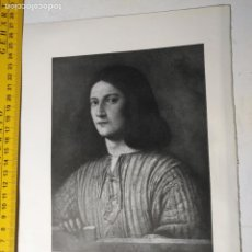 Arte: AÑO 1935 - ARTE , RETRATO DE UN JOVEN. Lote 223144521