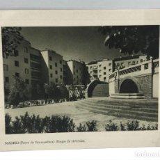 Arte: HUECOGRABADO ARTE BILBAO - MADRID ( PASEO DE EXTREMADURA ) BLOQUE DE VIVIENDAS -. Lote 234308075