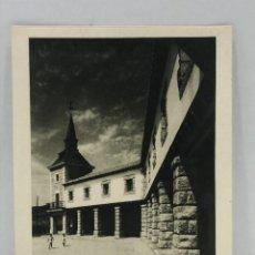 Arte: HUECOGRABADO ARTE BILBAO - TORRE Y ENTRADA A EDIFICIO - 1948. Lote 234308600