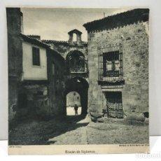 Arte: HUECOGRABADO ARTE BILBAO - RINCON DE SIGÜENZA - MARQUES DE SANTA MARÍA VILLAR - DEDICADA Y FIRMADA. Lote 234309175
